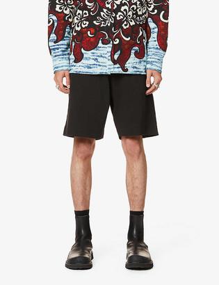 Dries Van Noten Hobdar zipped cotton-jersey shorts