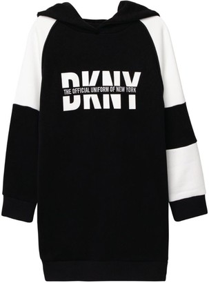 DKNY Logo Sweater Dress (6-16 Years)