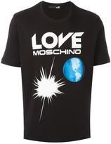 Love Moschino 'earth' print T-shirt
