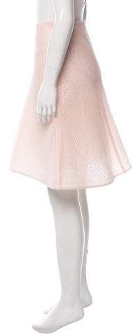 Vika Gazinskaya Silk A-Line Skirt