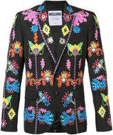 Moschino jungle appliqué blazer