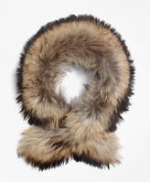 Brooks Brothers Raccoon Fur Collar