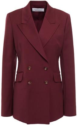 Gabriela Hearst Double-breasted Wool-blend Blazer
