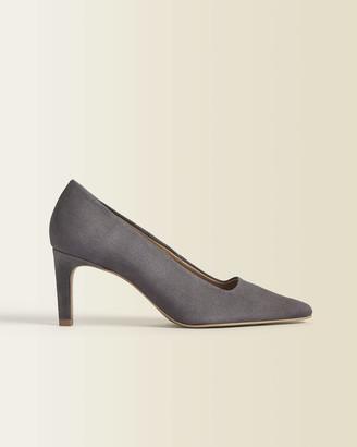Jigsaw Delia Suede Court Shoe