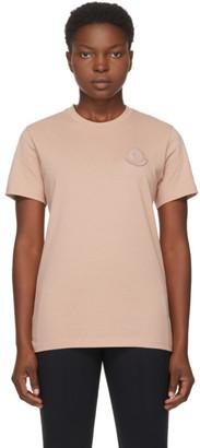 Moncler Pink Logo T-Shirt