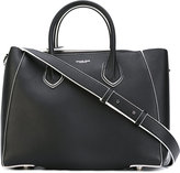 Michael Kors logo embossed tote bag - women - Calf Leather - One Size