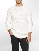 Calvin Klein Cotton Blend Yarn Sweater