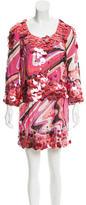 Emilio Pucci Sequined Silk Dress