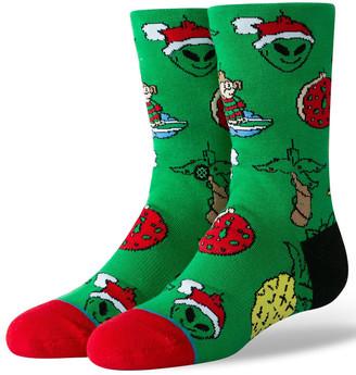 Stance Xmas Ornaments Kids Crew Socks