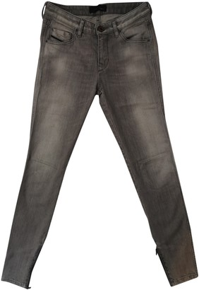 Diesel Black Gold Grey Cotton - elasthane Jeans for Women