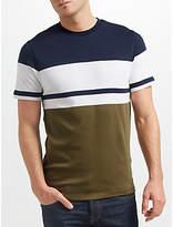 Samsoe & Samsoe Even Block Stripe T-shirt, White Stripe