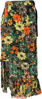 Preen by Thornton Bregazzi Flower Bomb midi skirt