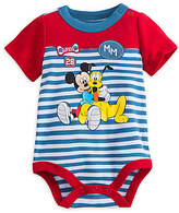 Disney Mickey Mouse and Pluto Cuddly Bodysuit for Baby