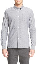 Saturdays Nyc 'Crosby' Dot Print Long Sleeve Shirt