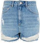 Topshop Mom authentic rip high rise short