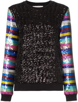 Mary Katrantzou Magpie sequin-embellished sweater