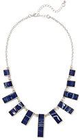 New York & Co. Geo Silvertone Necklace