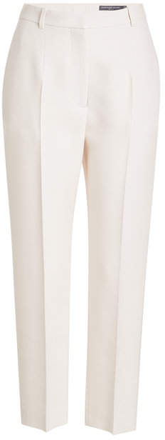 Alexander McQueen Tailored Pants with Wool and Silk