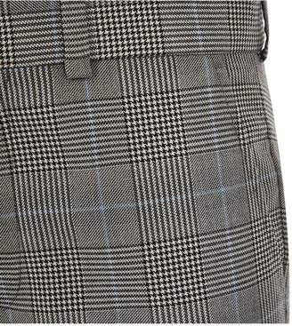 River Island Boys check suit trousers - grey