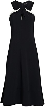 Proenza Schouler Twisted Cady Midi Dress