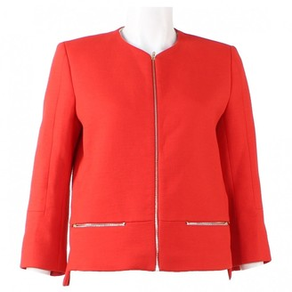 Sandro Red Cotton Jackets