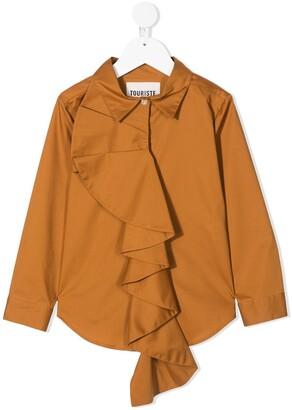 Touriste Cilindro frill-trim shirt