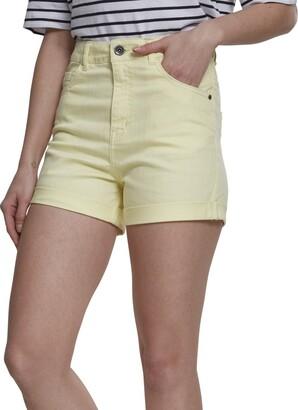 Urban Classics Women's Ladies Highwaist Stretch Twill Shorts