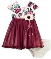 Iris & Ivy Floral Ballerina Set (Baby Girls)