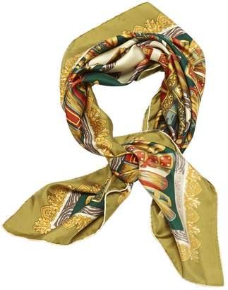 Vintage (Unsigned) Vintage (unsigned) Multicolour Silk Scarves