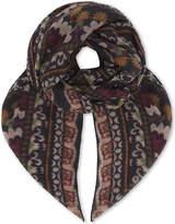 Etro Bombay print cashmere scarf