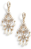 Jenny Packham Women's Star Chandelier Drop Earrings
