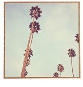 DENY Designs 'Catherine McDonald - Streets of Los Angeles' Framed Wall Art