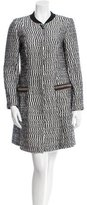 Tory Burch Textured Knee-Length Coat