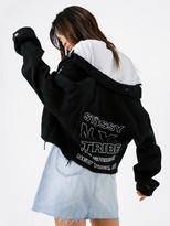 Stussy Keyline Stack Crop Denim Jacket