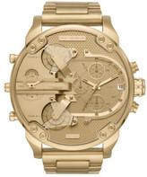 Diesel Daddy Series Gold-Tone Watch