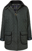 Topshop Oversized Quilted Nylon Jacket