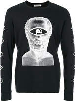 Undercover long-sleeved print T-shirt