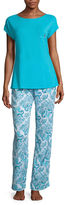 Liz Claiborne Tee And Pant Set