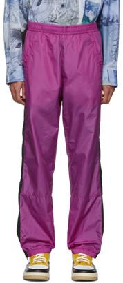 Acne Studios Pink Phoenix Face Track Pants