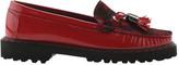 Women's ELEVTD Jesse Patent Lug Sole Tassel Loafer