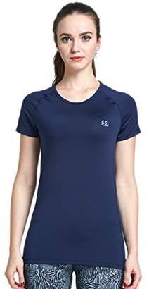 Goodsport Women's Moisture-Wicking Round-Neck Short-Sleeve Tee