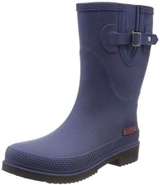 DOGGO Women Lotte Brushed Wellington Boots Wellington Boots, Blue (Blau 006), 41