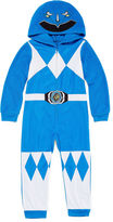 Power Rangers Boys Sleepwear Long Sleeve Footed Pajamas- Big Kid Boys