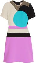 Roksanda Rylett paneled twill mini dress