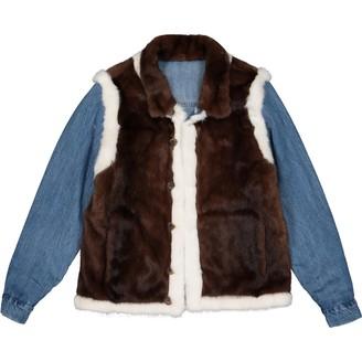 Simonetta Ravizza Blue Mink Jackets