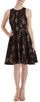 Jax Sleeveless Illusion Lace Fit & Flare Dress