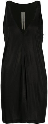 Rick Owens sleeveless V-neck dress