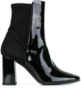 Fratelli Rossetti almond toe ankle boots - women - Leather/Patent Leather/rubber - 39