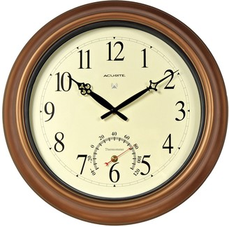 """Acurite AcuRite 18"""" Indoor / Outdoor Atomic Wall Clock & Thermometer"""