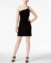 MICHAEL Michael Kors One-Shoulder Sheath Dress